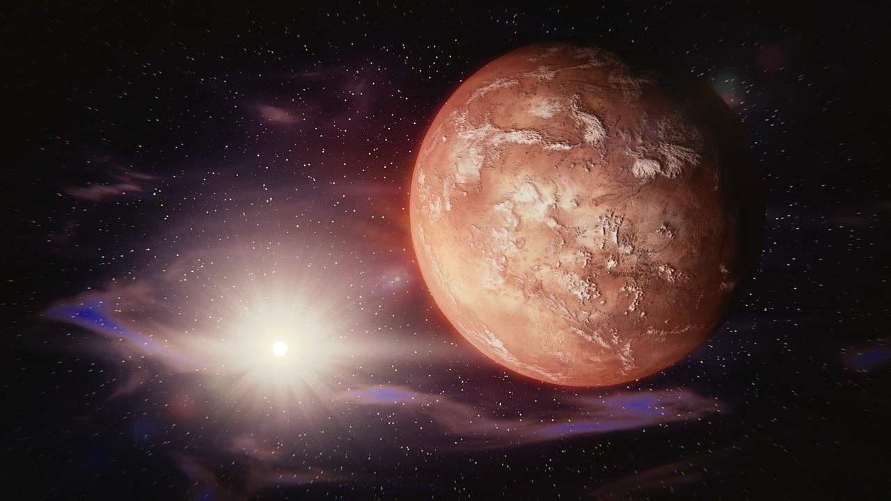 Der Mensch betritt den Mars